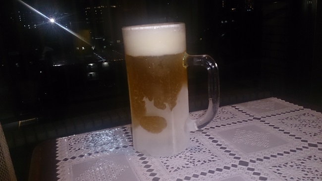 伊東第一ホテル 生ビールサービス