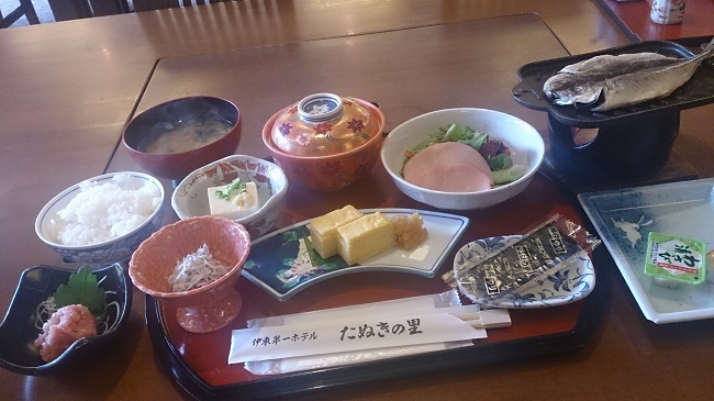 伊東第一ホテル 朝食