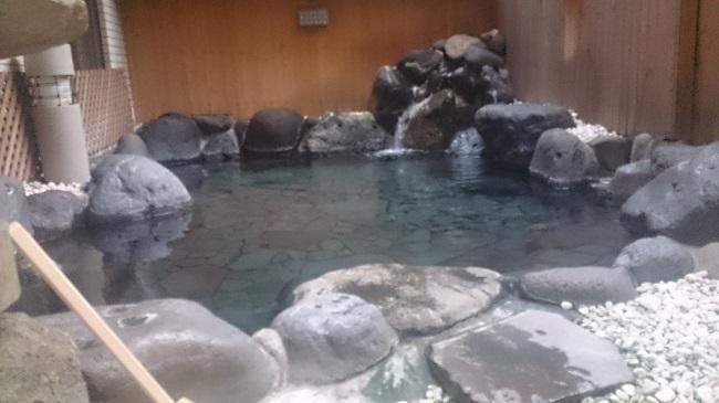 伊東第一ホテル 大浴場 露天風呂2