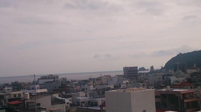 伊東第一ホテル 和室 ベランダからの眺望