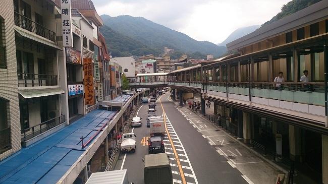 箱根湯本 メインストリート