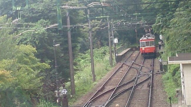 箱根登山鉄道 スイッチバック1