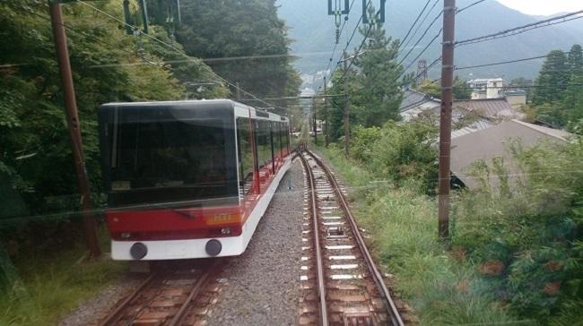 箱根登山ケーブルカー3