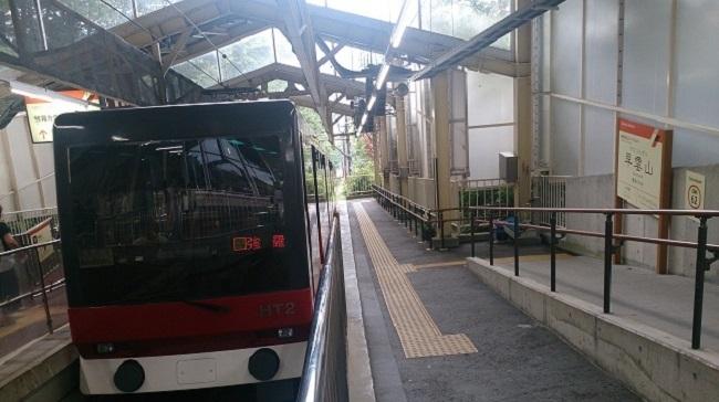 箱根登山ケーブルカー 早雲山駅