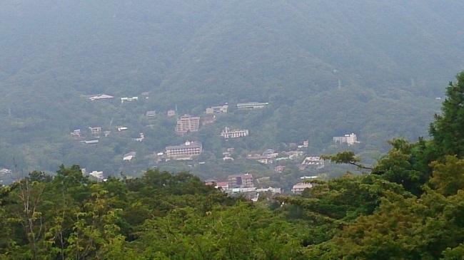箱根登山ケーブルカー 早雲山眺望
