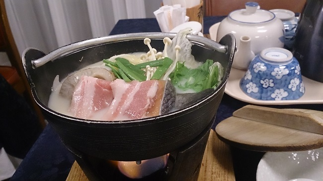 パウエル箱根 夕食料理2