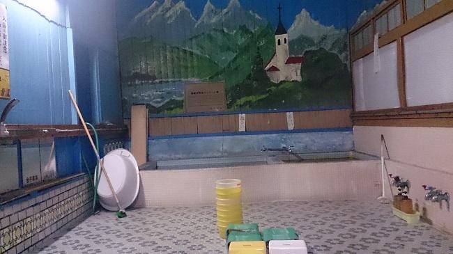 民宿浜の湯 大浴場 湯船