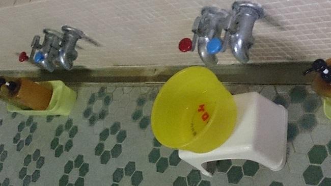 民宿浜の湯 大浴場 湯栓