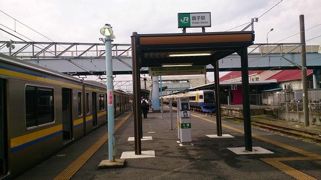 銚子電鉄 銚子駅JR連絡改札