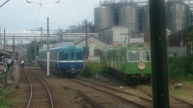 銚子電鉄 車庫