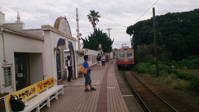 銚子電鉄 犬吠駅 ホーム