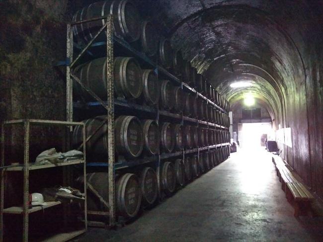 トンネルの駅 トンネル内貯蔵庫2