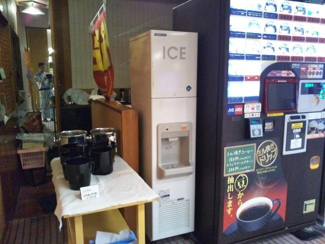 湯快リゾート片山津温泉 製氷機