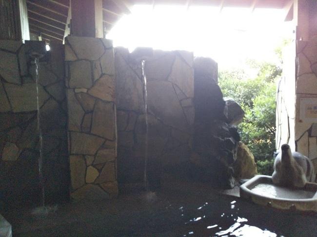 湯快リゾート片山津温泉 大浴場 露天風呂2