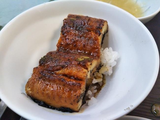 湯快リゾート片山津温泉 夕食バイキング 鰻丼