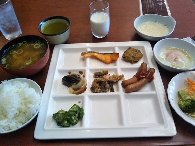 湯快リゾート片山津温泉 朝食バイキング