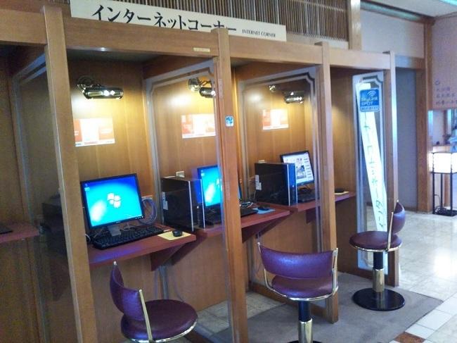 湯快リゾート片山津温泉 インターネットコーナー