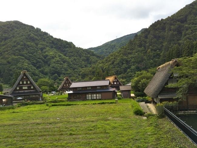 五箇山菅沼集落 田園風景