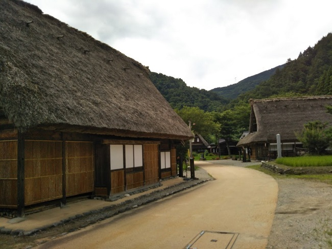 五箇山菅沼集落1