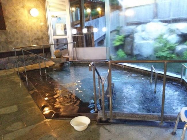 北原荘 大浴場 内風呂1
