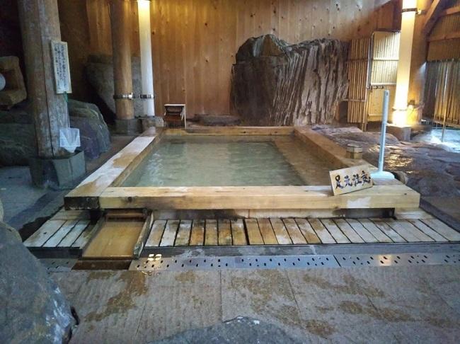 北原荘 大浴場 露天風呂1