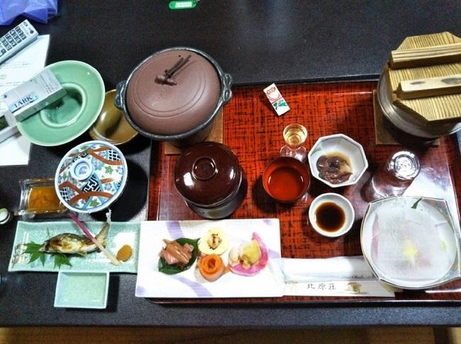 北原荘 夕食