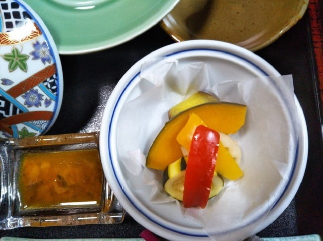 北原荘 夕食 夏の温野菜