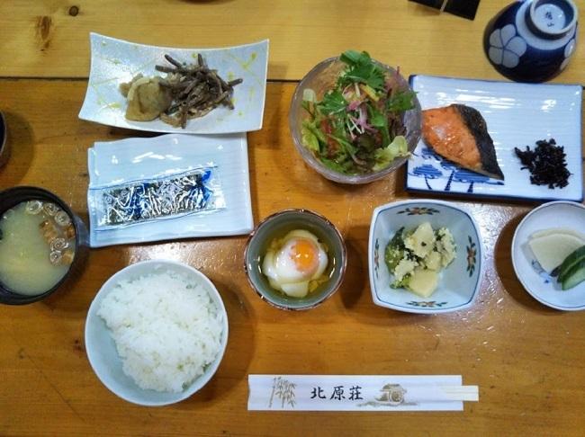 北原荘 朝食