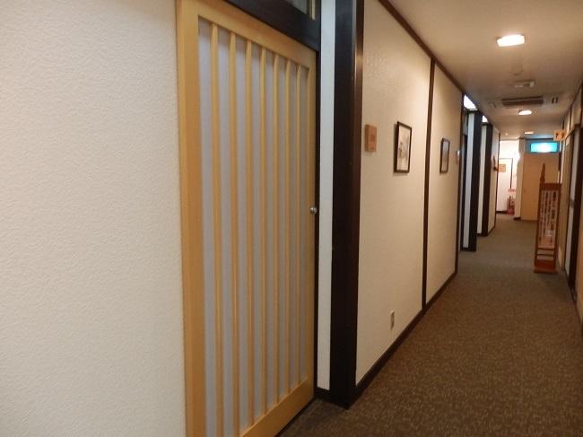 萩小町 廊下