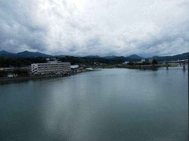 亀山亭 部屋からの眺望