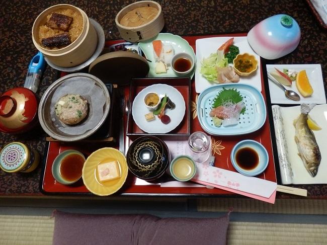 亀山亭 夕食料理