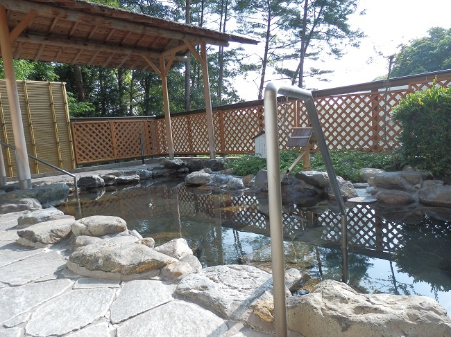 作州武蔵温泉 大浴場 露天風呂2