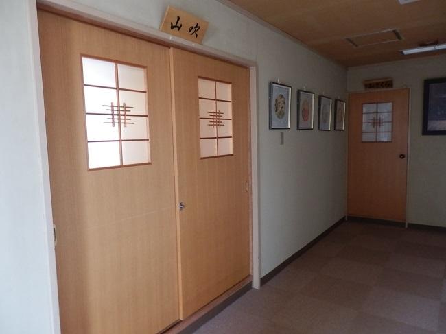 新ほり井 和室前 廊下