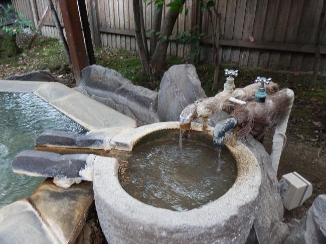 彩の庄 和洋室 露天風呂 湯