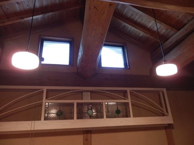 彩の庄 和洋室 天井