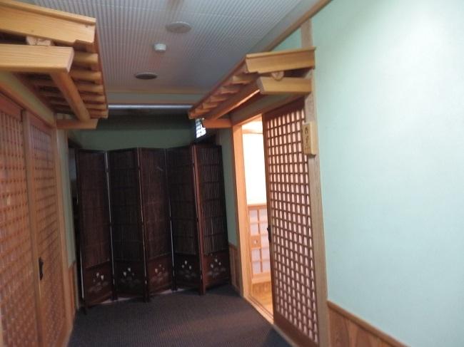 夢龍胆 和室 廊下
