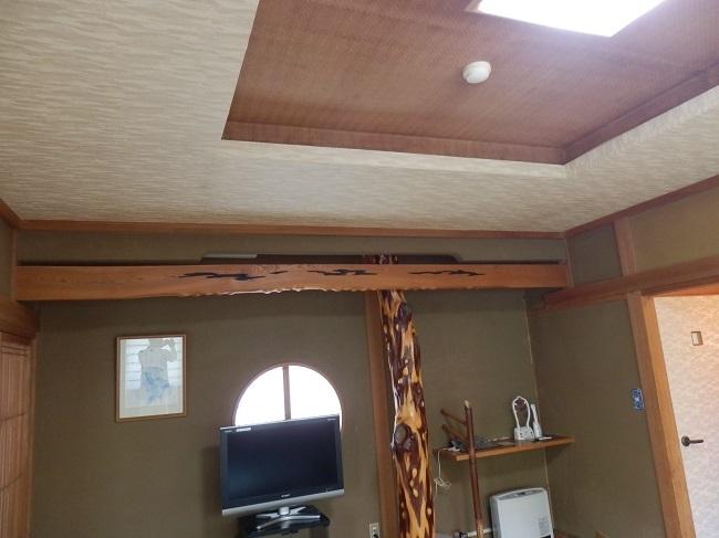 夢龍胆 和室 天井