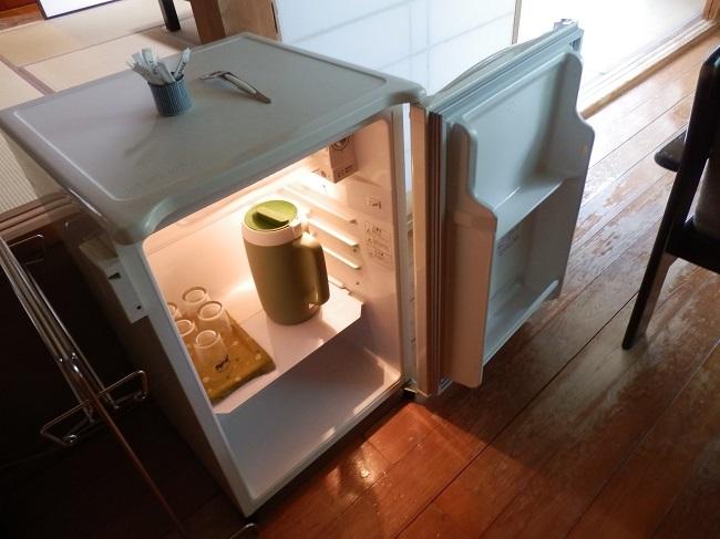 夢龍胆 和室 冷蔵庫