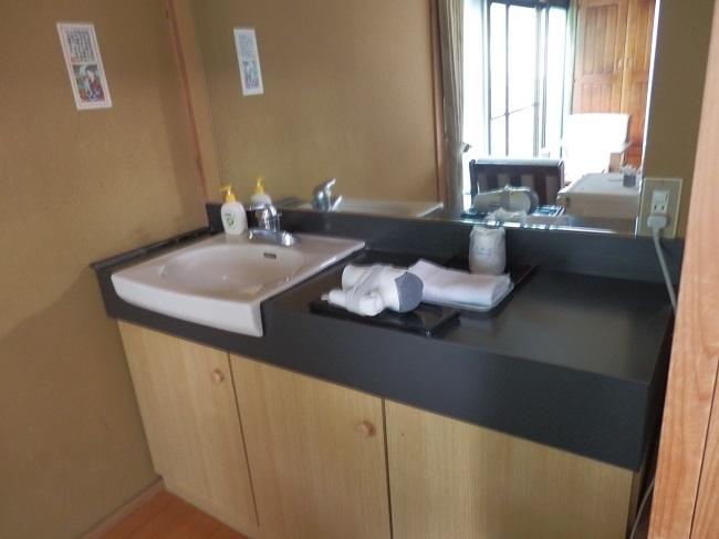 夢龍胆 和室 洗面台