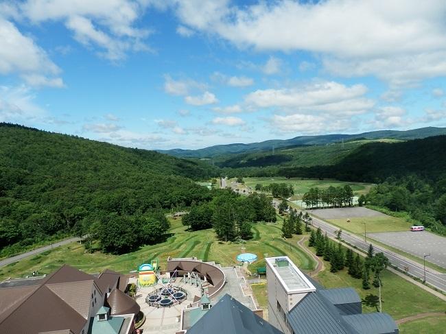 キロロトリビュートホテル 部屋からの眺望