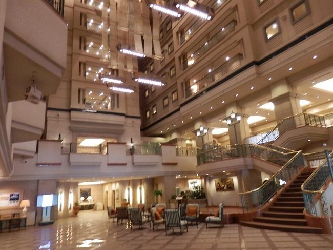 キロロトリビュートホテル ロビー
