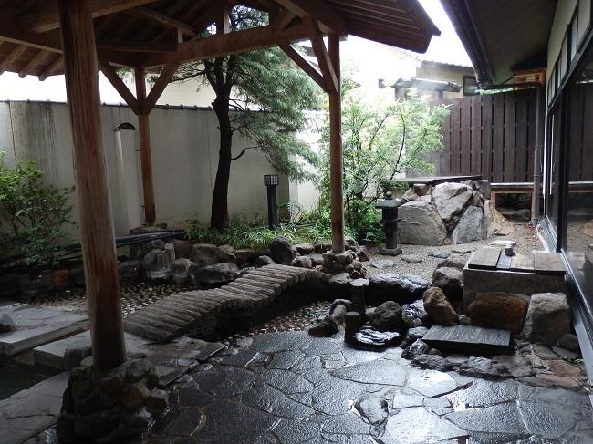 和の宿夢月 大浴場 露天風呂2