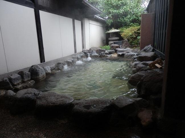 和の宿夢月 貸切露天風呂1