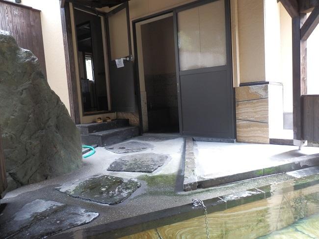 離れの宿白木 露天風呂