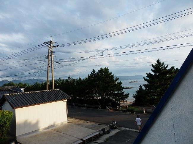 民宿大漁 和室からの眺望