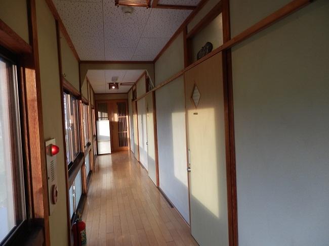 民宿大漁 2階廊下