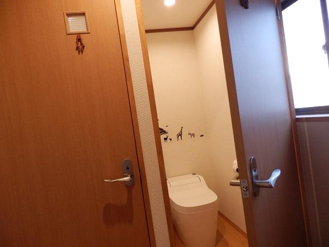 民宿大漁 共同トイレ
