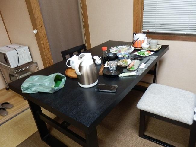 民宿大漁丸 テーブル席
