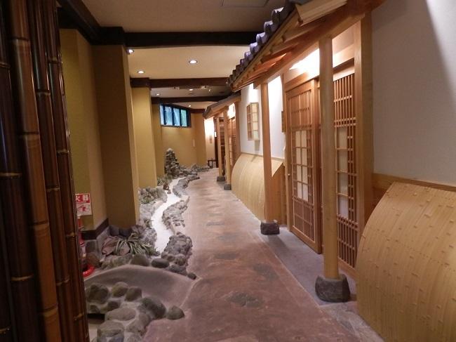 浜膳旅館 館内廊下