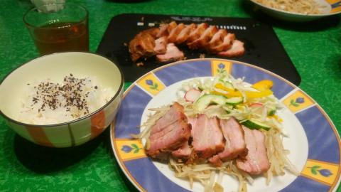 豚バラチャーシューご飯